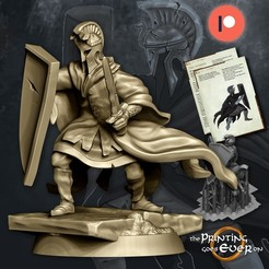 n2.jpg Download STL file Dark Myrmidon - Presupported • 3D printing design, The-Printing-Goes-Ever-On