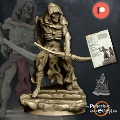 wight-archer.jpg Download STL file Wight Archer - Presupported - Modular • Object to 3D print, The-Printing-Goes-Ever-On