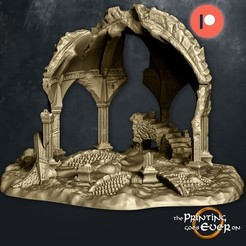 fehntop-ruins.jpg Download STL file Fehntop Ruins - Supportless Diorama and Scatter Terrain • 3D print design, The-Printing-Goes-Ever-On