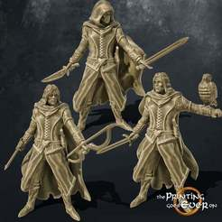 rangers.jpg Download free STL file Human Ranger 3 Variants • Object to 3D print, The-Printing-Goes-Ever-On