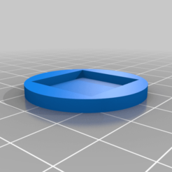 20to32_no_taper.png Download free STL file 20 mm square to 32 mm circle base adaptor • Object to 3D print, The-Printing-Goes-Ever-On