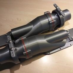 20200514_165047.jpg Télécharger fichier STL Pompe de propulsion à jet d'eau Propulseur à jet d'eau Hamilton 50mm • Plan pour imprimante 3D, jet-x