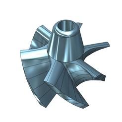 13.jpg Télécharger fichier STL Roue pour unité de propulsion 50mm • Modèle pour impression 3D, jet-x