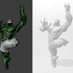 Download free 3D printer designs Hulk Dance 2.0, Dovahkiin3DPrint