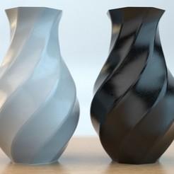 Vase_01.jpg Download STL file Polygon Vase 02 • 3D print design, anncao