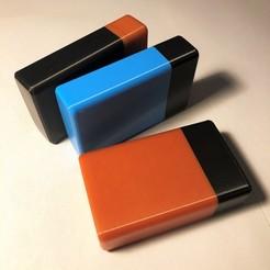 Photo 27-09-2020 18 02 55 (3).jpg Download STL file Cigarette box - Cigaboite 12 • Model to 3D print, mikag