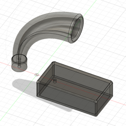 Fusion360_2020-09-06_13-00-14.png Download free STL file Creality CR-10 V3 Filament Guide • 3D print object, mikag
