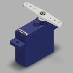 HS45.PNG Télécharger fichier STL gratuit Servo Hitec HS-45 • Objet pour imprimante 3D, POL-6347