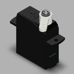 PZ15320.PNG Download free STL file Micro servo PZ-15320 • 3D print object, POL-6347