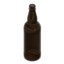 bottle.PNG Download STL file Beer Bottle 1:1 & 1:48 • 3D printing object, POL-6347