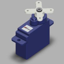 HS40.PNG Télécharger fichier STL gratuit Servo Hitec HS-40 • Plan pour impression 3D, POL-6347