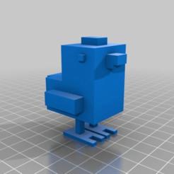 3d22a715285db0d1b3dd98c4df8a1751.png Download free STL file Crossy Road Chicken • 3D print template, Samdsx