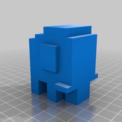 09c5d10b9a42d5948722b88e7dbd3493.png Download free STL file Crossy Road Elephant • Template to 3D print, Samdsx