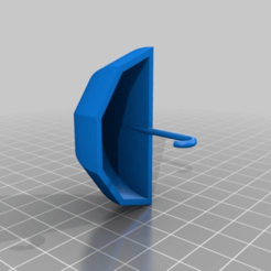 b12aa02461866e40803dfc5353e633a6.png Download free STL file Umbrella keyhook • Template to 3D print, SmileyPrinter