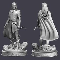 Legolas_CLAY_FINIS.jpg Download OBJ file Legolas Fan Art • 3D printing design, conti3d