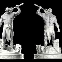 azogclay.jpg Télécharger fichier STL Azog Le fan art du profanateur • Objet imprimable en 3D, conti3d