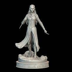 untitled.147ed.jpg Télécharger fichier STL Fan Art de Tauriel • Plan à imprimer en 3D, conti3d