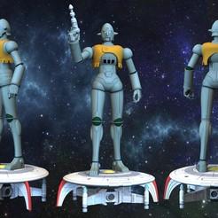 Download STL file Grag from Captain Future • 3D printer object, alessiatrombetta