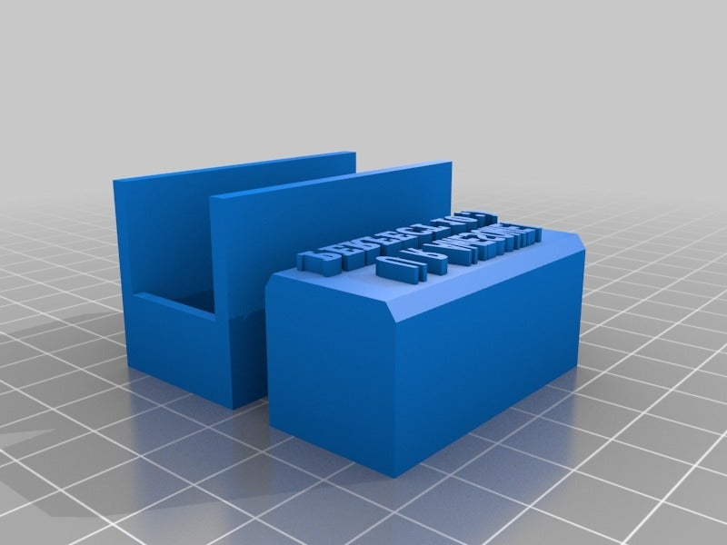"""c9059b2df5710a03f3bb176b44581527.png Download free STL file Stamp -> """"U R AWESOME, PERFECT 10 ;)"""" • Template to 3D print, Maker4D"""