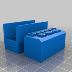 """Download free 3D printer model Stamp -> """"YOU HAVE BEEN FRIENDZONED ;("""", Maker4D"""