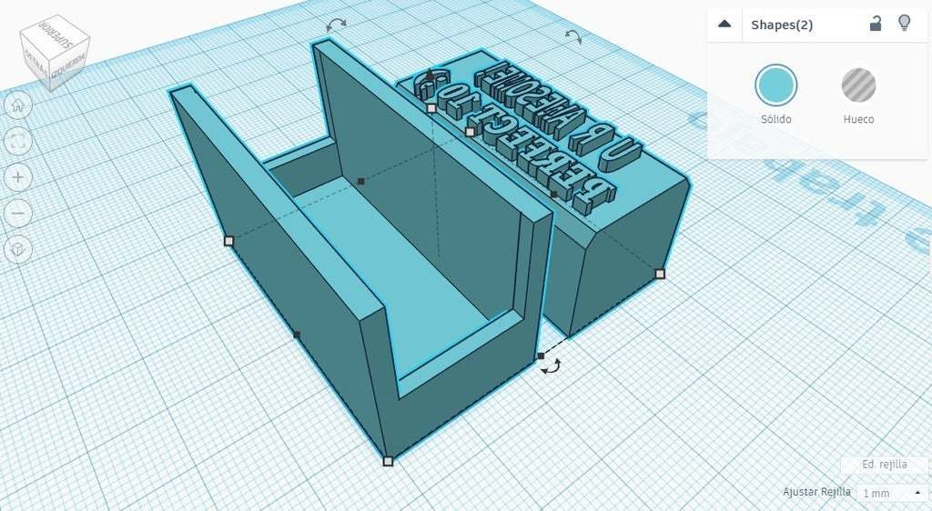 """Sello_Copado_1_-_Imagen_2.bmp.jpg Download free STL file Stamp -> """"U R AWESOME, PERFECT 10 ;)"""" • Template to 3D print, Maker4D"""