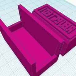 "Download free 3D printing designs Stamp -> ""REJECTED!"", Maker4D"