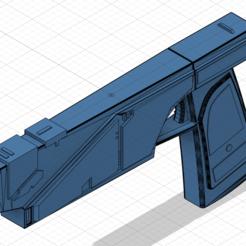 Télécharger fichier STL gratuit Westar-35 Mandalorian Blaster Sabine (à droite) • Plan à imprimer en 3D, Xadiu