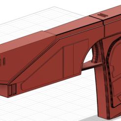 Télécharger fichier STL gratuit Westar-35 Mandalorian Blaster Sabine (Gauche) • Objet imprimable en 3D, Xadiu