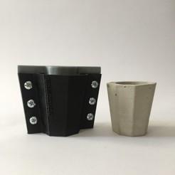 IMG-8571.JPG Télécharger fichier STL Moule à pot en béton • Plan imprimable en 3D, Pipes32