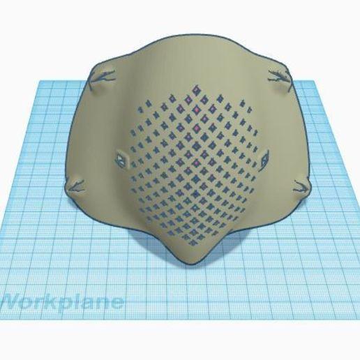 Download free STL file masker • 3D printable model, workardianandy4