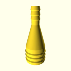 0fe4f52330cf2035a588ff248e6c928d.png Download free SCAD file Customizable Tube Reducer • Model to 3D print, wsvenny