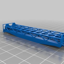 Download free SCAD file MiniRailway Sklmmp (customizable) • 3D printing object, wsvenny