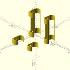 nimh6-holder.png Télécharger fichier SCAD gratuit Support NiMH akupack • Plan pour imprimante 3D, wsvenny