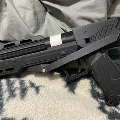 Download STL file DC-15s side arm blaster - Star Wars 3D PRINT MODEL • 3D printable design, shdowwulf
