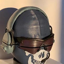 impreso con post procesado.jpeg Descargar archivo STL Call of Duty Ghost grinder • Diseño para imprimir en 3D, WP4U_URUGUAY