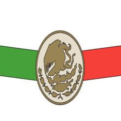salvaorejas mex.png Télécharger fichier STL Sauvez les oreilles du drapeau mexicain • Plan imprimable en 3D, pasolento68