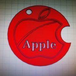 apple 2 ..jpg Descargar archivo STL Logotipo de la manzana • Plan de la impresora 3D, ezekkito