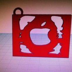 apple 1 ..jpg Descargar archivo STL gratis Logotipo de la manzana • Plan de la impresora 3D, ezekkito