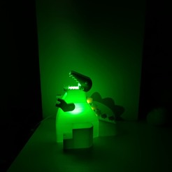 IMG_20200930_181306.jpg Download STL file Dino light dinosaur lamp • 3D printer model, jjaappg