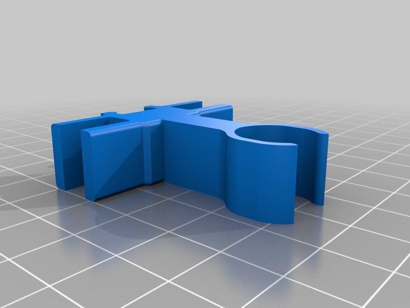 64d5330edfa9e6d8c6061812aae706f1.png Télécharger fichier STL gratuit Organiseur de prises avec rail, double • Objet pour impression 3D, danielscatigno
