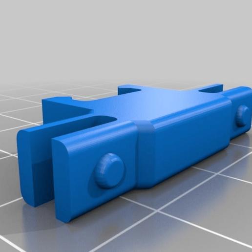 e128cf4cad35ec69f6f59a8d199e6835.png Télécharger fichier STL gratuit Organiseur de prises avec rail, double • Objet pour impression 3D, danielscatigno