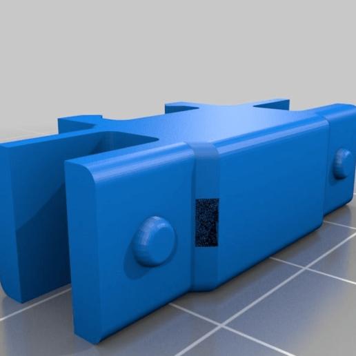 caa2711f4d711e630fb10101384ca927.png Télécharger fichier STL gratuit Organiseur de prises avec rail, double • Objet pour impression 3D, danielscatigno