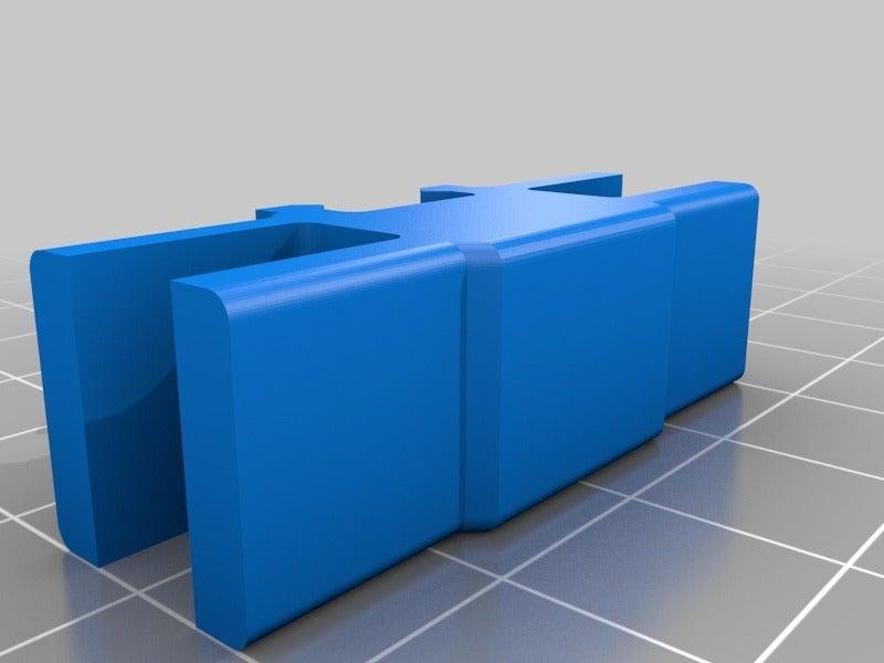 17d84c683928d4a077825823b78a8235.png Télécharger fichier STL gratuit Organiseur de prises avec rail, double • Objet pour impression 3D, danielscatigno