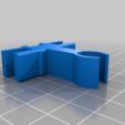 cfcb6ec912569ff58e92774738663815.png Télécharger fichier STL gratuit Organiseur de prises avec rail, double • Objet pour impression 3D, danielscatigno
