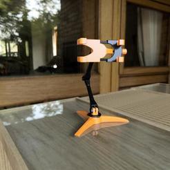 1.jpg Télécharger fichier STL Support de téléphone modulaire • Plan imprimable en 3D, danielscatigno