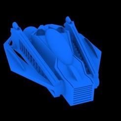 NAVE.jpg Télécharger fichier STL gratuit Vaisseau spatial • Objet à imprimer en 3D, FONG