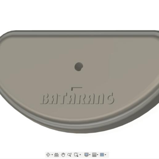 2020-08-22.png Télécharger fichier STL gratuit Socle de Batarang • Objet à imprimer en 3D, Quentin_Gauche