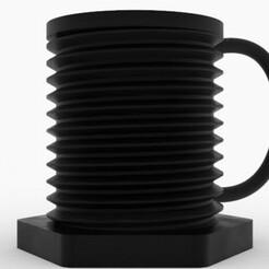 cup1.jpg Download STL file threaded Mug • 3D printing model, printex