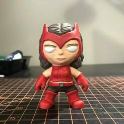 Scarlet Witch.jpg Download STL file Scarlet Witch (Marvel X-Men Universe) • 3D printable model, ZMilab
