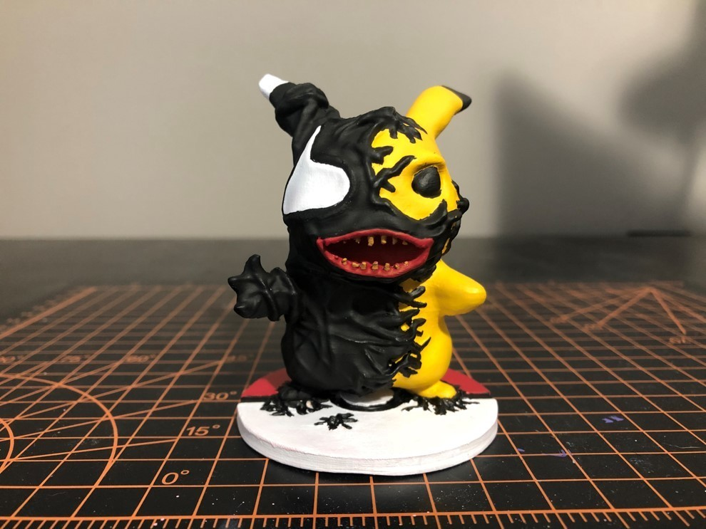 VP 2_6.jpg Download STL file Venom Pikachu • 3D printable object, ZMilab
